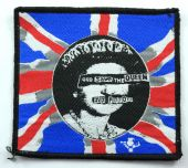 Sex Pistols - 'God Save the Queen' Woven Patch